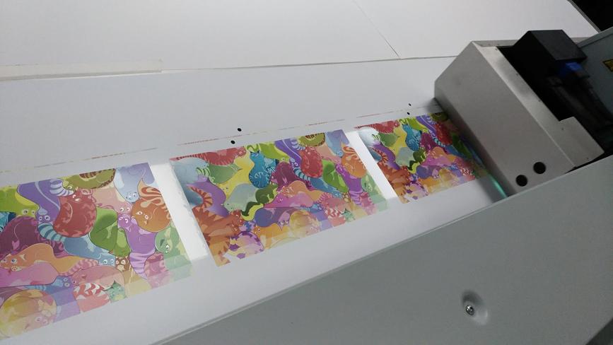 Sticky Cats Print 1