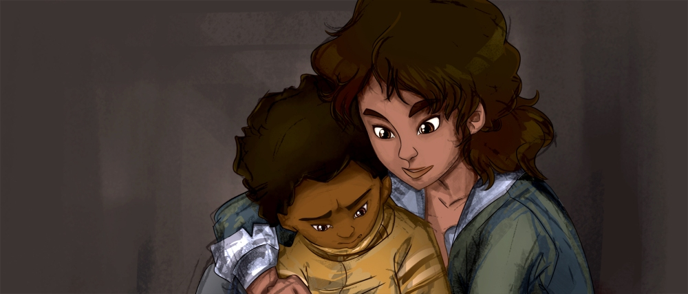 Clementine and AJ (Header)